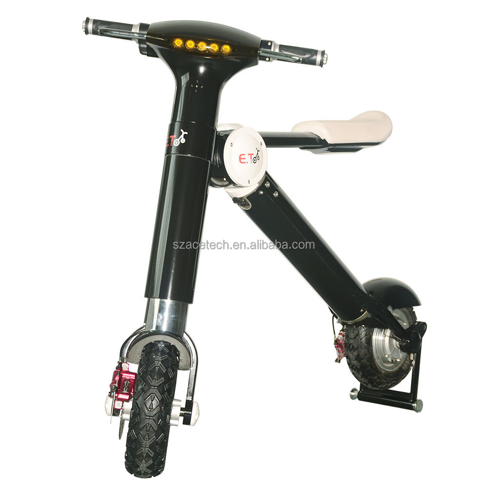 2016 Manufacturing CE FCC ROHS adults sports e scooter /foldable electric bikes/pocket with 35km/h 350w 500w Samsung battery