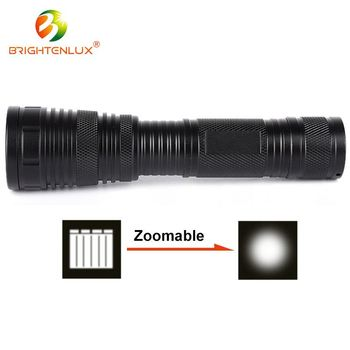 Competitive price 1*18650 battery Adjustable Focus led blacklight torch
