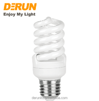 CFL Production Line Full Spiral Energy Saving Lamp T2 15W 18W 20W 2700K 6400K 10000hrs E27 B22 CFL