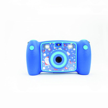 FHD 1080P kids digital Children camera with funny Cartoon photo Frame