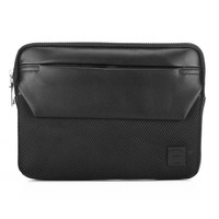 Leather laptop case, 9 inch pouch for ipad leather notebook briefcase tablet PC sleeve bag case