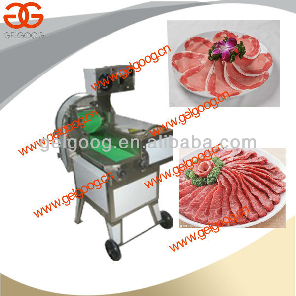Pig Ear Slicing Machine|Hot sale cooked beef cutting machine|High efficiency fresh meat slicer machine