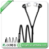 Professional Oem Colorful Zipper Earphone Mobile
