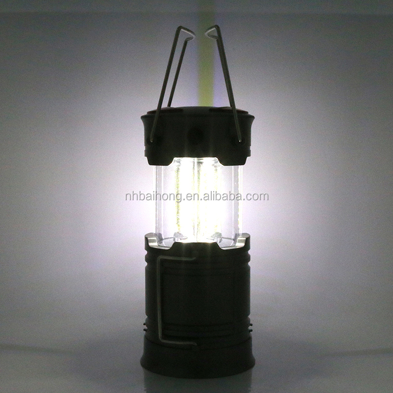 Multi-function Inspection Camping Light Portable Outdoor Camping Lantern Stretch Handle Flashlights