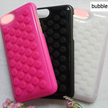 Universal Silicone Pop Pop Bubbles Phone Case Cover For I5 I7 Cases Supplier