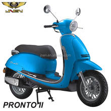 PRONTO/EIVISSA 50CC JNEN Motor 2016 Vespa Design Scooter motorcycle Moped Gas Meet With EEC Emark EEC DOT