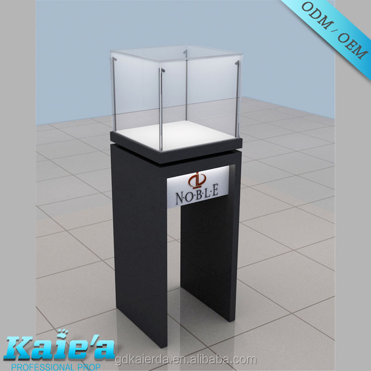 Enough material jewelry shop furniture for glass showcase