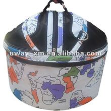 UW-PB-040701 2012 New arrival round coloful printing oxford fabric pet bags for dogs and cat,pet carrier bag,dog bag