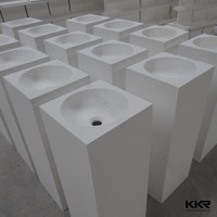 Kingkonree toilet hand wash basins / hand wash basin with pedestal price