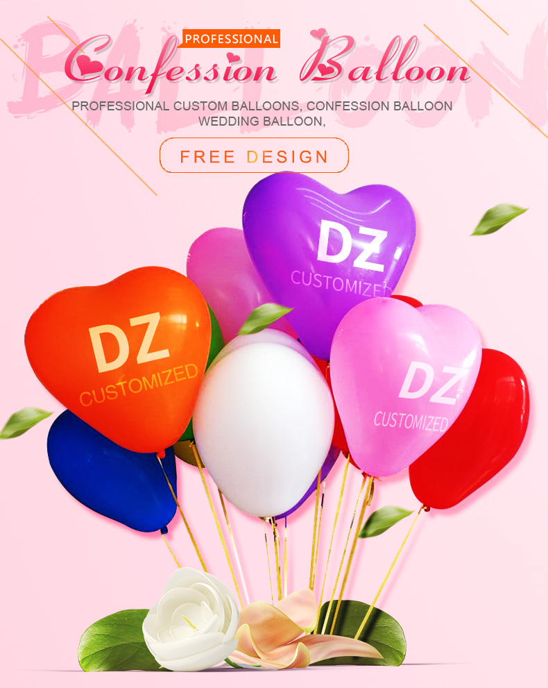 hot sale love balloon inflatable for advertising Made in China