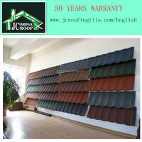 High quality stone coated metal roof tile, colorful Shingle stone coated roofing sheet
