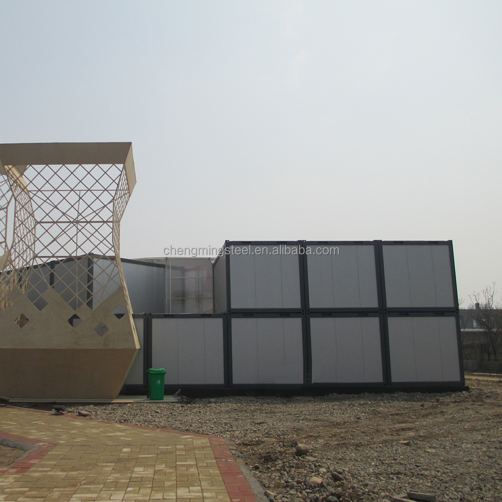 Energy Efficiency Affordable Prefabricated Recyclable Prefabricated 40Ft Hydraulic Container House