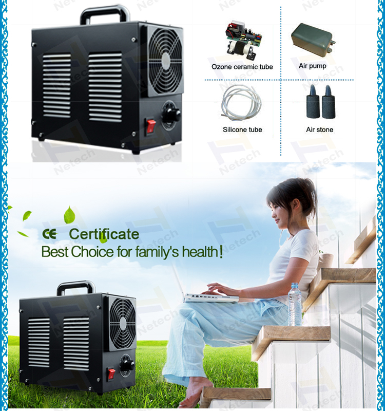 High efficiency CE 3g/hr 5g/hr home car ozone air purifier