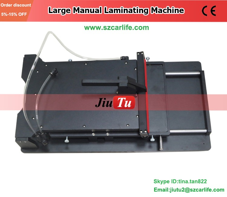 Lcd Glass Polarizing Film Laminating Machine Manual Laminator Machine With Black Color Used For LCD Screen Repairing