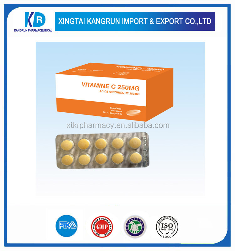 oem factory supplier vitamin c 1500mg timed release tablet