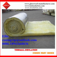 Glass wool blanket with Aluminum foil for HAVC project