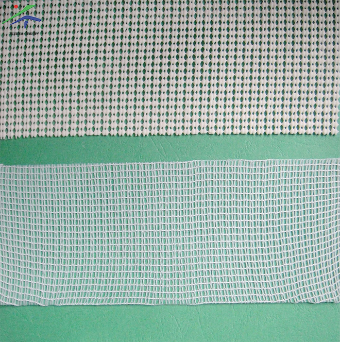 Barcode Fabric for Non-Slip Mat, Mesh Fabric for PVC Foaming