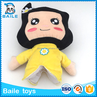 Promotion soft plush doll hand puppet funny kids toy