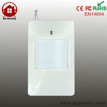 315 / 433 Mhz Wireless Standard PIR Motion Detector Sensor for Home Security Alarm System with External antenna