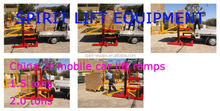 China 2t mobile car lift ramps