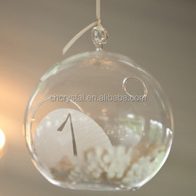 100mm clear glass ornament balls MH-KX091