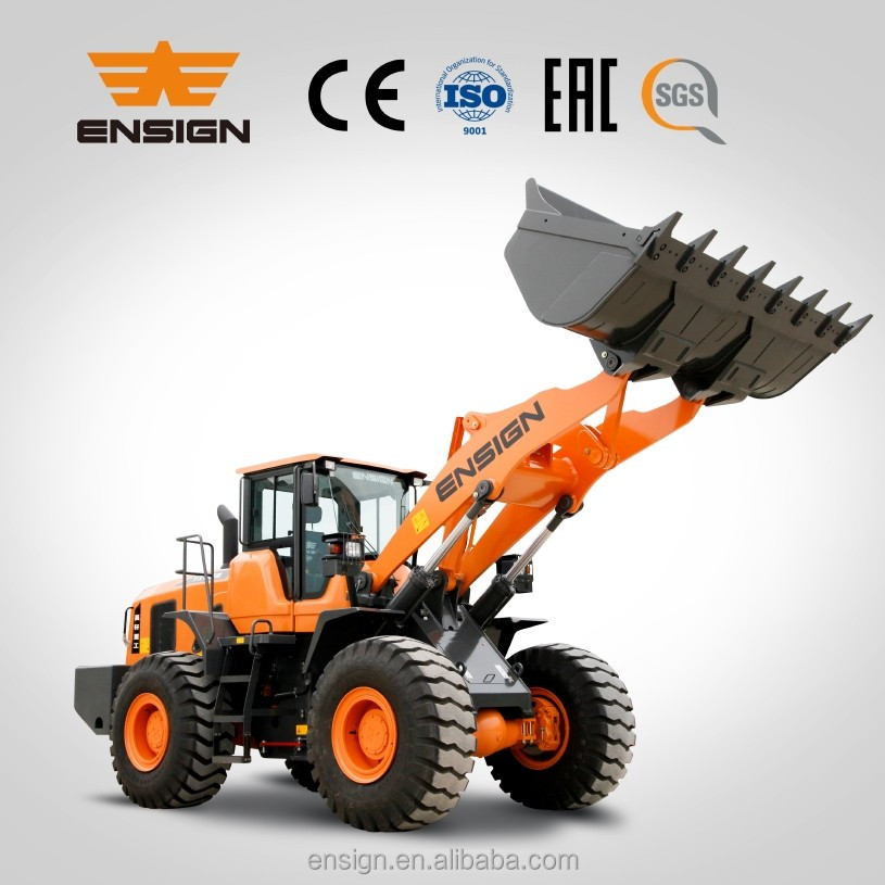 5 Ton wheel loader Front end loader ENSIGN wheel loader YX656