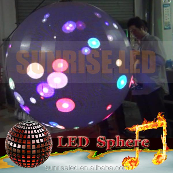 globe projection sphere projection 3d led display globe