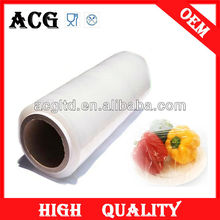 plastic wrap transparent pe film for food
