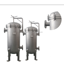 Bag filter coconut oil processing machine for crude coconut oil