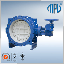 PTFE Lined Wafer Resilient Seated wafer butterfly valve