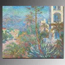 Villas painting handmade oil painting reproduction