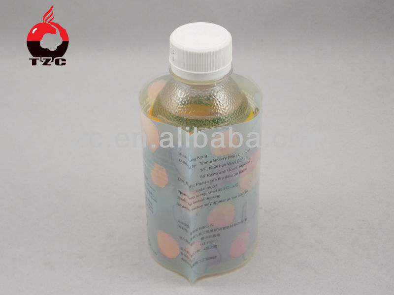 Competitive price pcv shrink sleeves for bottles