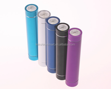 Blue cylinder shape portable powerbank for nokia 2200mAh powerbank smart