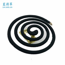 Natural sandalwood Lemon fragrance black mosquito coil smokeless mosquito repellent incense
