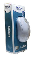 INCA GULAN IWM-111 RM White 2.4G Wireless Mouse With 800 DIP Resolution and Built-in Mini Nano Reciver