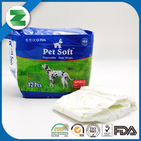 Wholesale softcare disposable dog diapers with size xxl