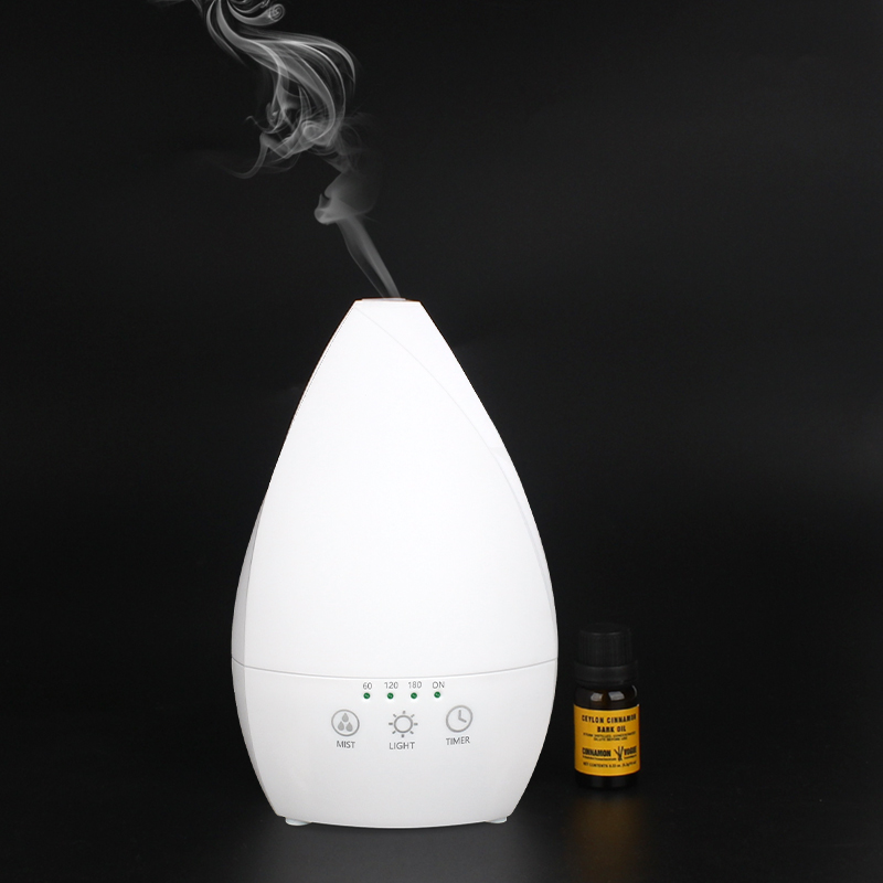 High quality steam humidifier spa room diffusers color changing aroma diffuser