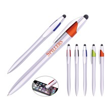 Office&school supplies simple style touch screen stylus plastic ball pen with custom logo for vape pen