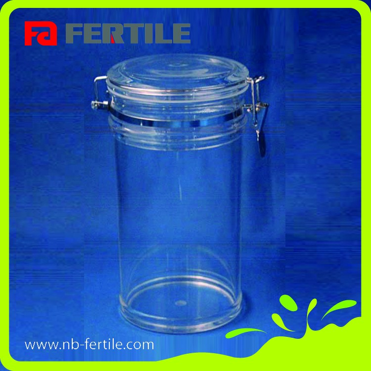 FERTILE stable quality easy storage seal acrylic canister