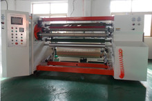 Double shaft crepe paper rewinding machine, kraft paper tape rewinding machine
