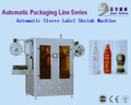 automatic bottle shrink sleeving stainless steel labeling machine