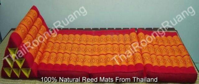 thai triangle oreiller 10 trou avec 3 coussins mat id de produit 125935888. Black Bedroom Furniture Sets. Home Design Ideas