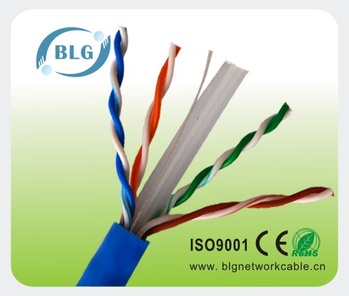 Factory Price Ethernet UTP Cat 6 Network Cable Made in Guangdong