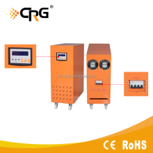 The multifunctional solar inverter with MPPT charge controller built-in
