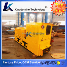 5 Ton mining battery locomotive, flameproof underground mining locomotive