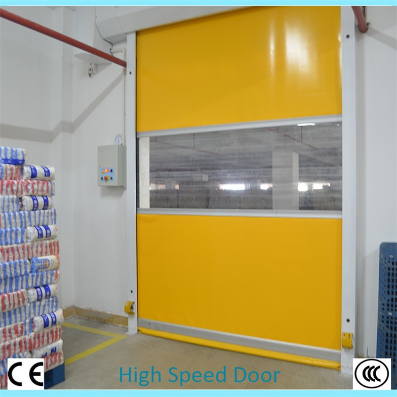 alibaba china industrial commercial used pvc door for warehouse