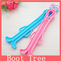 Hot selling!!2014 newest colorful Inflatable Shoe support/plastic boots brace/boot tree
