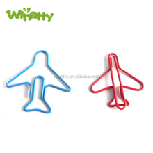 Custom Airplane Paper Clip Aircraft Shaped Paper Clip Set