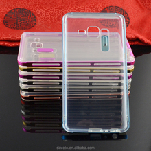 Wholesale Cellphone Cases for Samsung galaxy ON7/G6000, TPU+PC Hybrid Light Up Cellphone Cases