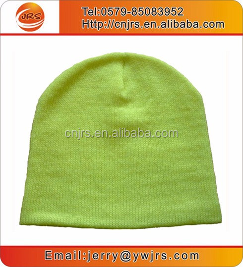 promotion knit stretched rasta slouch reflective lourescent colours beanies